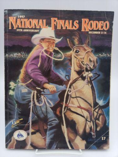 1997 Magazine Las Vegas Stardust Casino National Finals Rodeo 39th  Anniversary