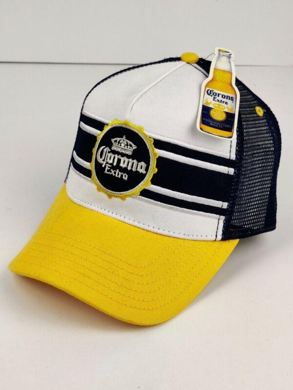 Corona Beer Mesh Trucker Hat Snapback Cap NWT NEW