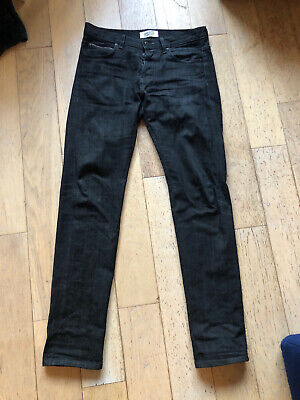 Naked And Famous Selvedge Denim Super Guy Jeans - Size 33 - Black/Grey