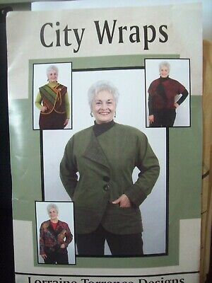 Lorraine Torrence Designs Pattern 1919 City Wraps Sizes XXS-3XL Uncut/FFold - Lorraine Torrence Designs