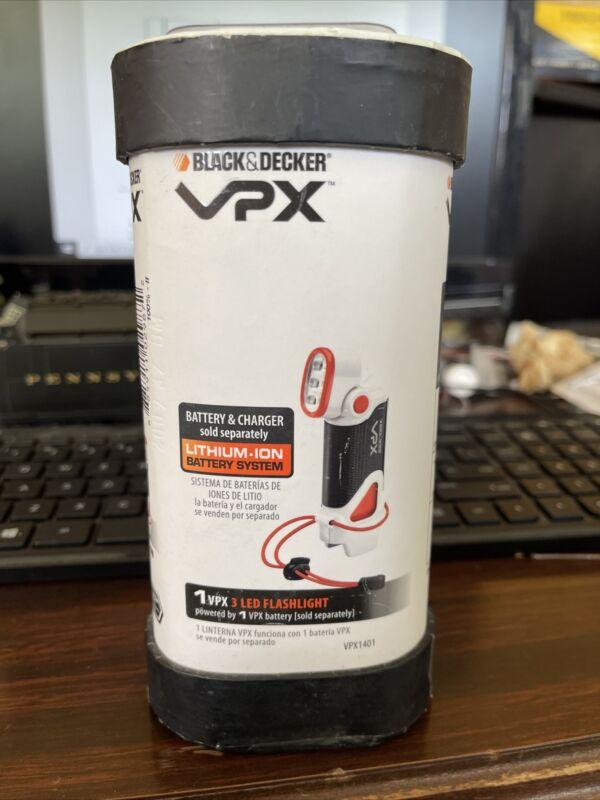 Black &Decker VPX 3 LED flashlight