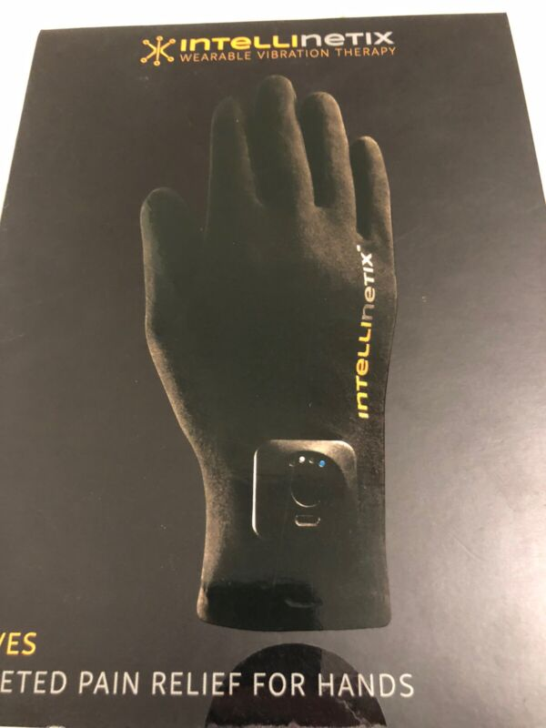 Intellinetix Wearable Vibration Therapy GLOVES Brand New Sealed Box