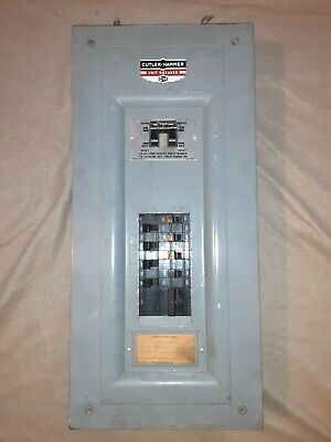 Vintage Cutler-hammer Unit Breaker 70 Amp 20 Amp Breakers Great Condition