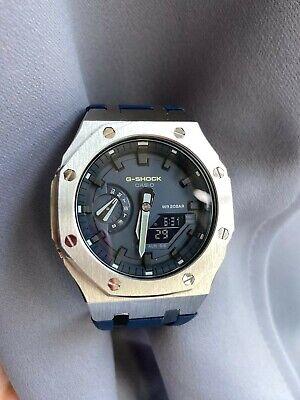 Casioak modded watch Casio G-SHOCK GA-2100HC-2AER month old