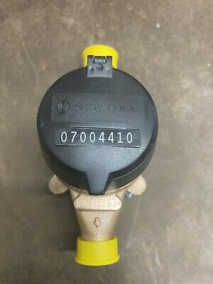 Neptune 58x34 T-10 Brass Water Meter Direct Read Gallon