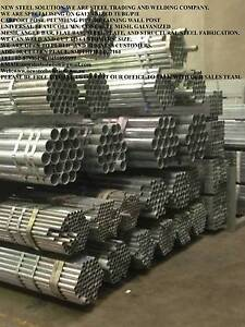 40NB*2.5MM-GALVANIZED ROUND PIPE-FOR FENCING,FABRICATION,BUILDING Smithfield Parramatta Area Preview