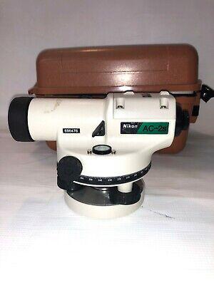 Nikon Ac-2s 24x - 360 Degree Automatic Optical Level - 24