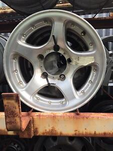 Mitsubishi Delica Mag Wheels - COMPLETE SET Holden Hill Tea Tree Gully Area Preview