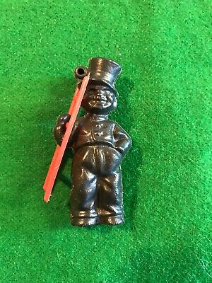 Vintage Christmas Cracker Plastic Novelty Chimney Sweep With Ladder 1960's