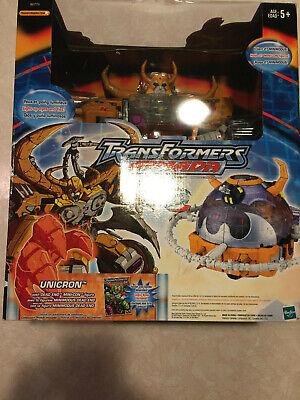 Transformers Armada Unicron w/ Dead End Mini-con Box and accessories