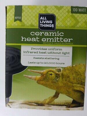 All Living Things 150 Watt Reptile Ceramic Heat Emitter -Infrared Heat w/o Light