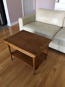 Walnut Mid Century Modern Lane Coffee Table