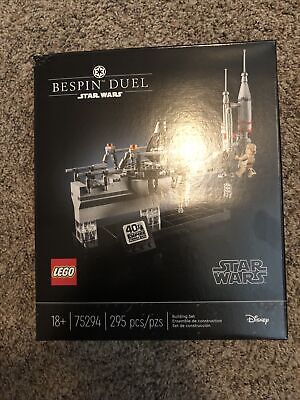 LEGO Star Wars Bespin Duel Building Kit (75294) In Hand