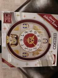 Seiko Melodies in Motion Wall Clock, QXM565BRH