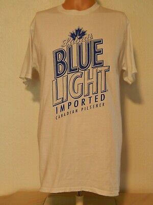 T-SHIRT - LABATT BLUE LIGHT - IMPORTED CANADIAN PILSENER - MEDIUM (M)