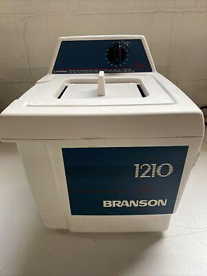 Bransonic 1210 Branson Heating Water Bath Ultrasonic Cleaner 1210r-mt