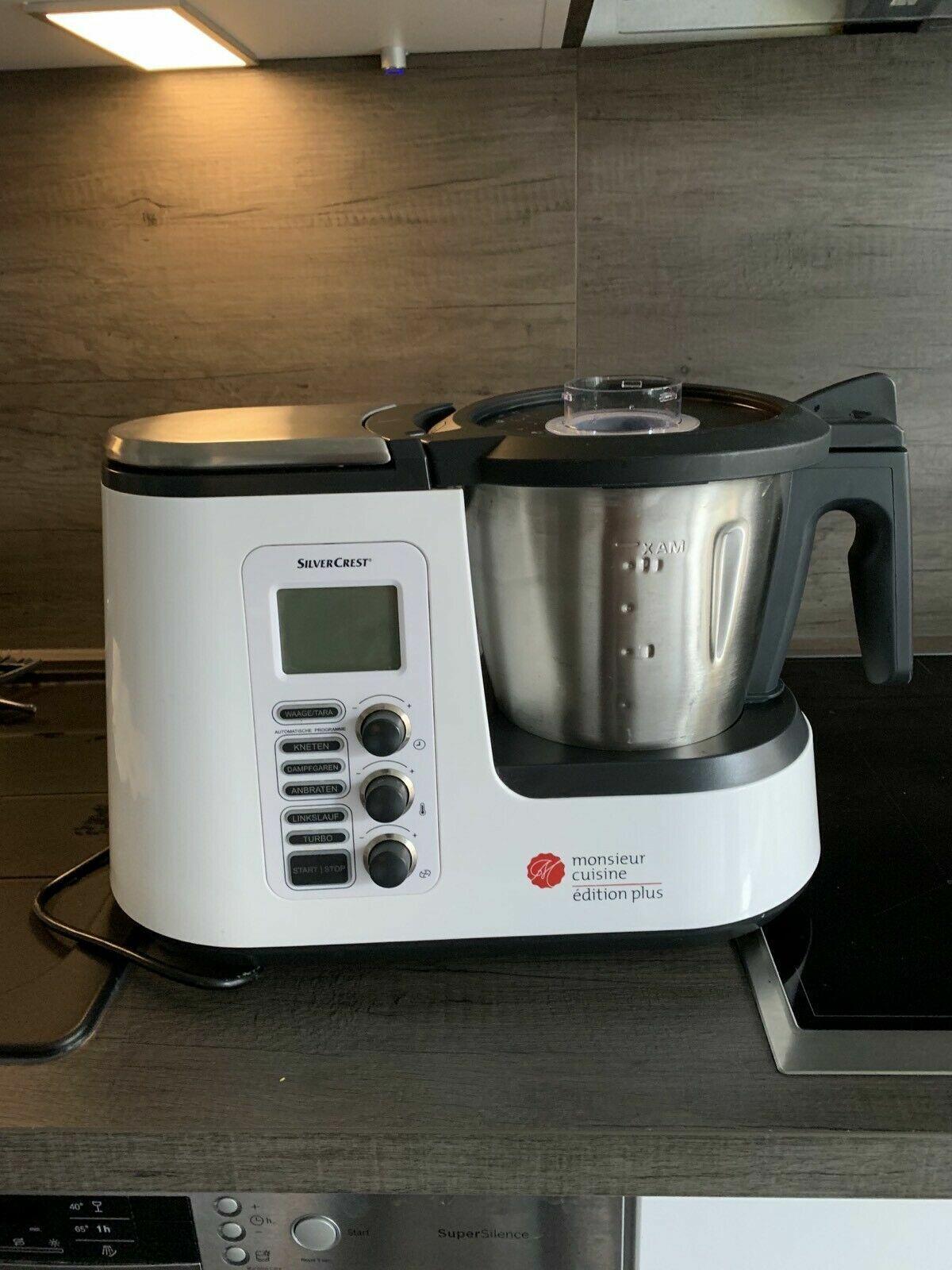 TOP Küchenmaschine Monsieur Cuisine Plus mit viel Zubehör