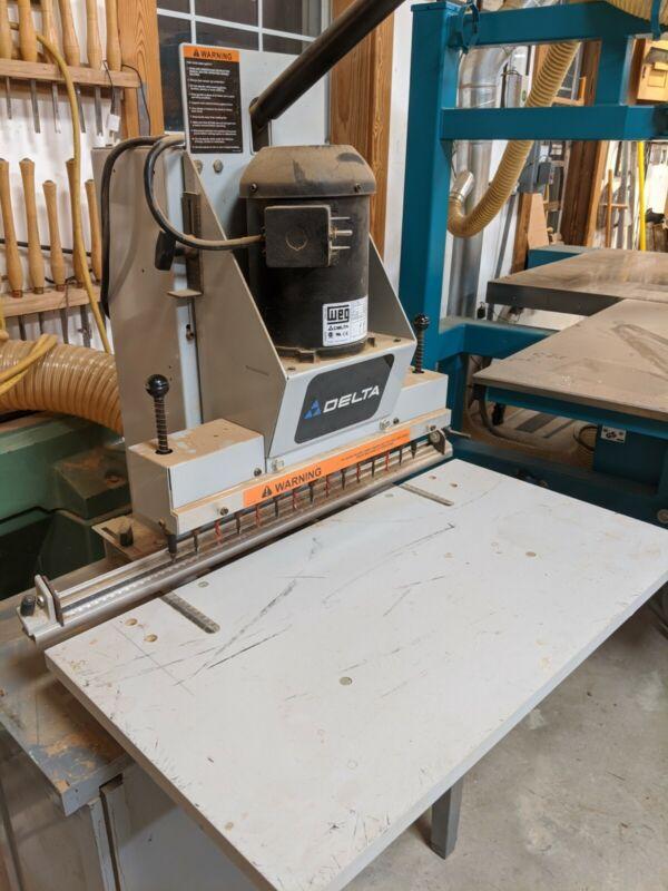 Delta in Line Borer woodworking