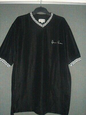 Gianni Versace V-neck T shirt sz L Vintage