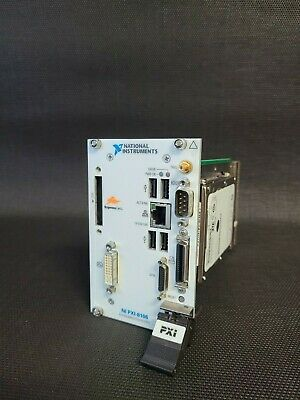 National Instruments Pxi-8106 2.16 Ghz Dual-core Embedded Controller