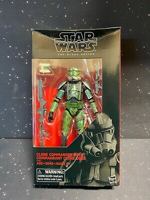 2019 Star Wars Black Series 6 inch Clone Commander Gree Exclusive NON MINT