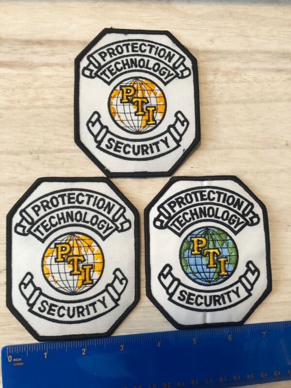 3 Protection Technology Security Shoulder Patches PTI