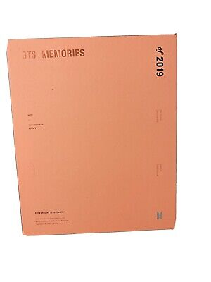 BTS Official Memories of 2019 DVD Edition (NO photocard) Special Gift Comes with