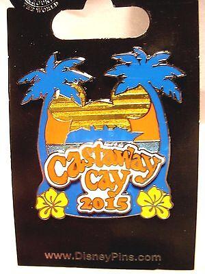 "Disney Cruise Line  Castaway Cay ""2015"" Pin"