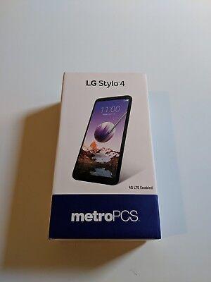 NEW SEALED LG Stylo 4 - 32GB - Black - (Metro PCS) Smartphone - 180567