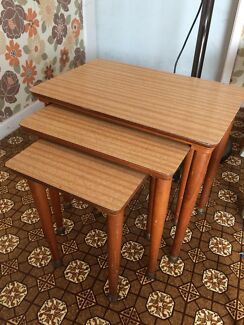 Side table set of three