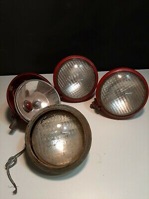 Antique Vintage Tractor Lights Rear And Front