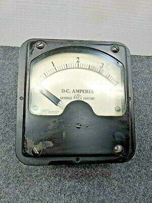 Large Ge Panel Dc Ampere Meter