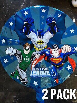 2 Justice League Batman Superman Foil  18