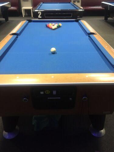 used 7 ft slate pool table