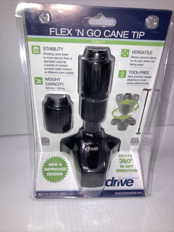 Drive Large Flex n' Go Cane Tip