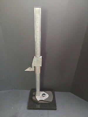 Usa Made Starrett No. 254 26 Master Vernier Height Gage .001 Machinist Gauge