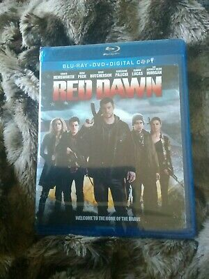 Red Dawn (Blu-ray/DVD, 2013, 2-Disc Set, Includes Digital Copy)