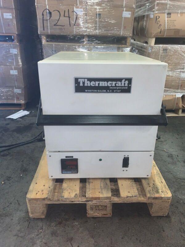Thermcraft Front Load Box Furnace Model # SSB-12-12-18-1C-H-S max temp 2250 F