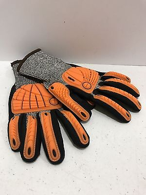Wells Lamont Flextech Seamless Knit Palm Coated Glove With Impact Pads X Large