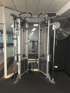 Life Fitnes Dual Multi Functional Cable Machine Commercial Osborne Park Stirling Area Preview