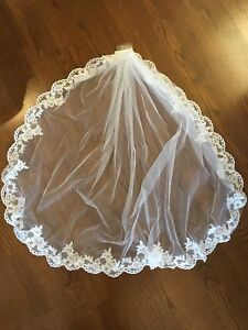 Wedding bride veil