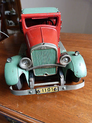 Originales Märklin 1101 Baukasten Auto der 30er Jahre/ Blech Auto #8995K