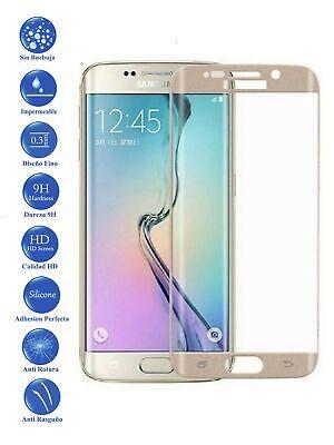 Protector de Cristal Templado Curvo 3D Samsung Galaxy S6 Edge Plus Color...