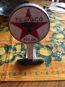 Original Texaco Table Stand