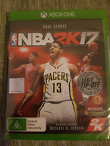 nba 2k17 xbox one Stanhope Gardens Blacktown Area Preview