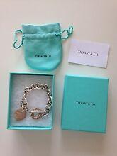 Authentic Tiffany & Co Heart Tag Toggle Bracelet RRP $620 Melbourne CBD Melbourne City Preview
