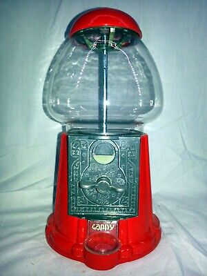 Gumball Machine Bank - Old Fashioned Vintage Style - Heavy-Duty Cast Metal