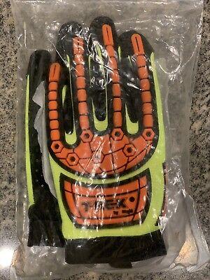 Magid T-REX TRX641 Slim-Fit Mechanic's Style Impact Glove – Cut Level 4 - T Rex Gloves