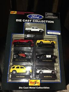 Ford Diecast Collection 1:64 7pc