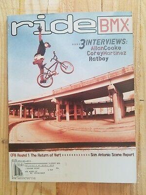 6f643fdf675 RIDE BMX MAGAZINE! JULY 2001 VOLUME 10 ISSUE 7 NO. 62 ALAN COOKE COREY  MARTINEZ